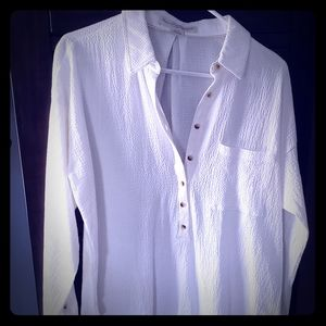 NWOT Anthropology button down shirt